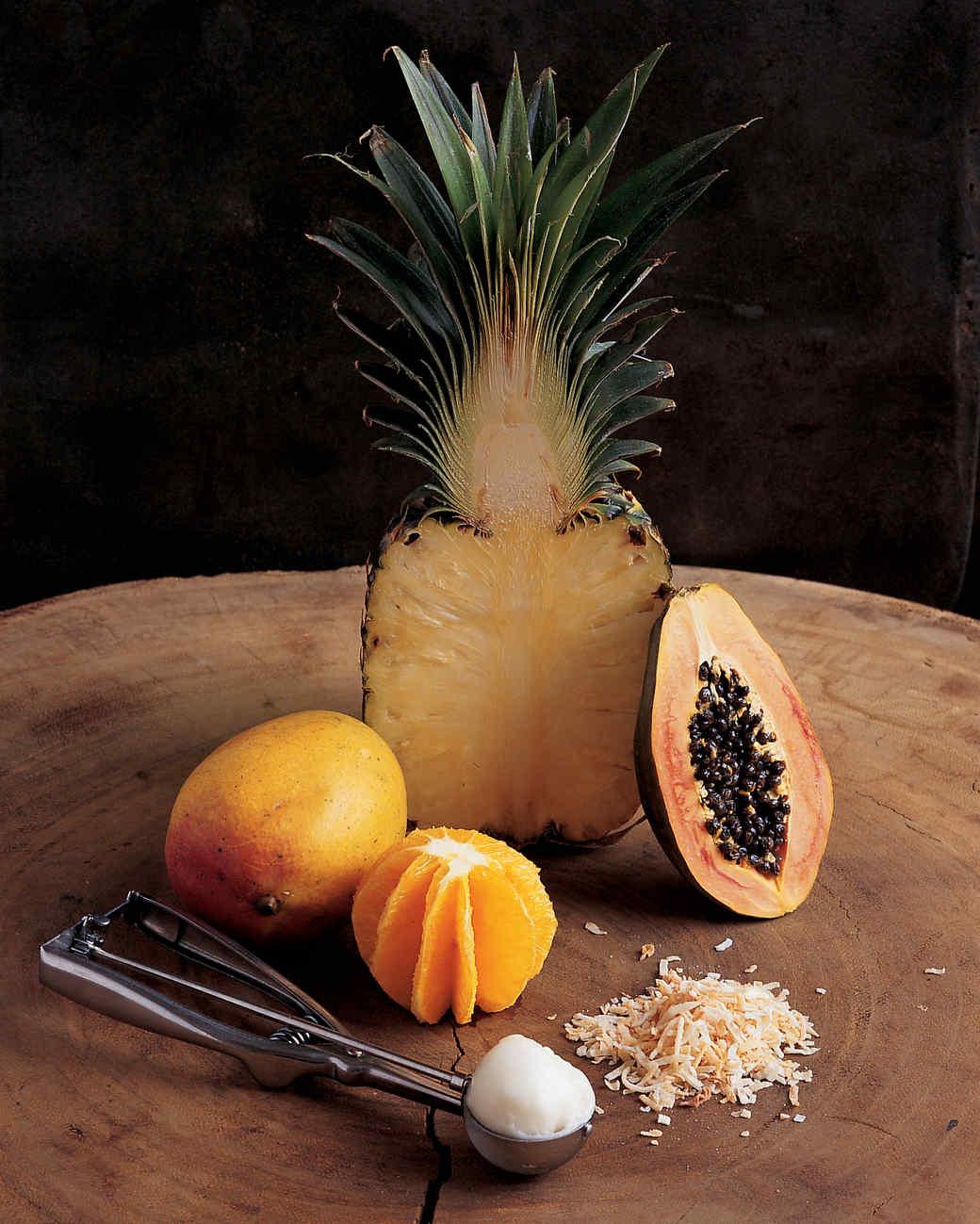 Mandarin Fruit Sundae