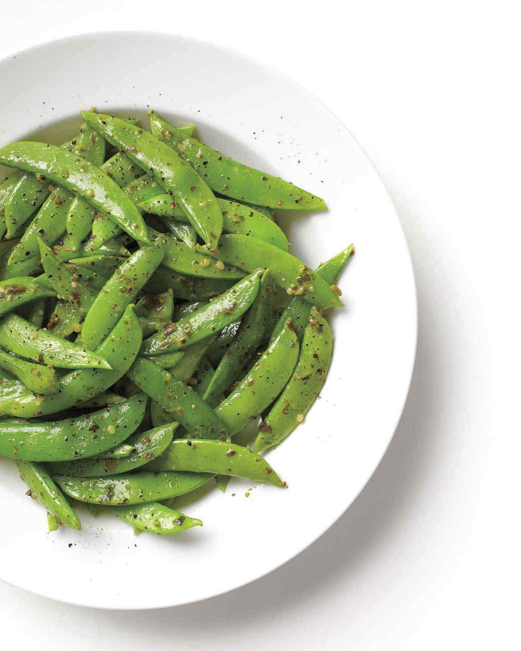 Pesto Snap Peas