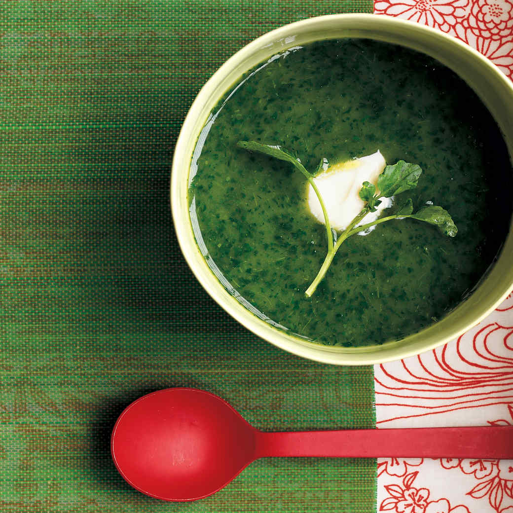 Easy Watercress and Leek Soup