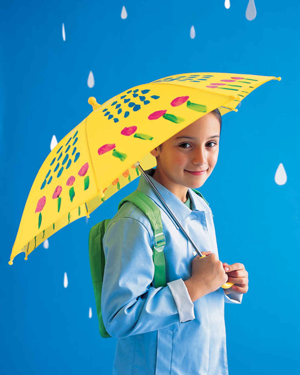 Painted Umbrella Martha Stewart