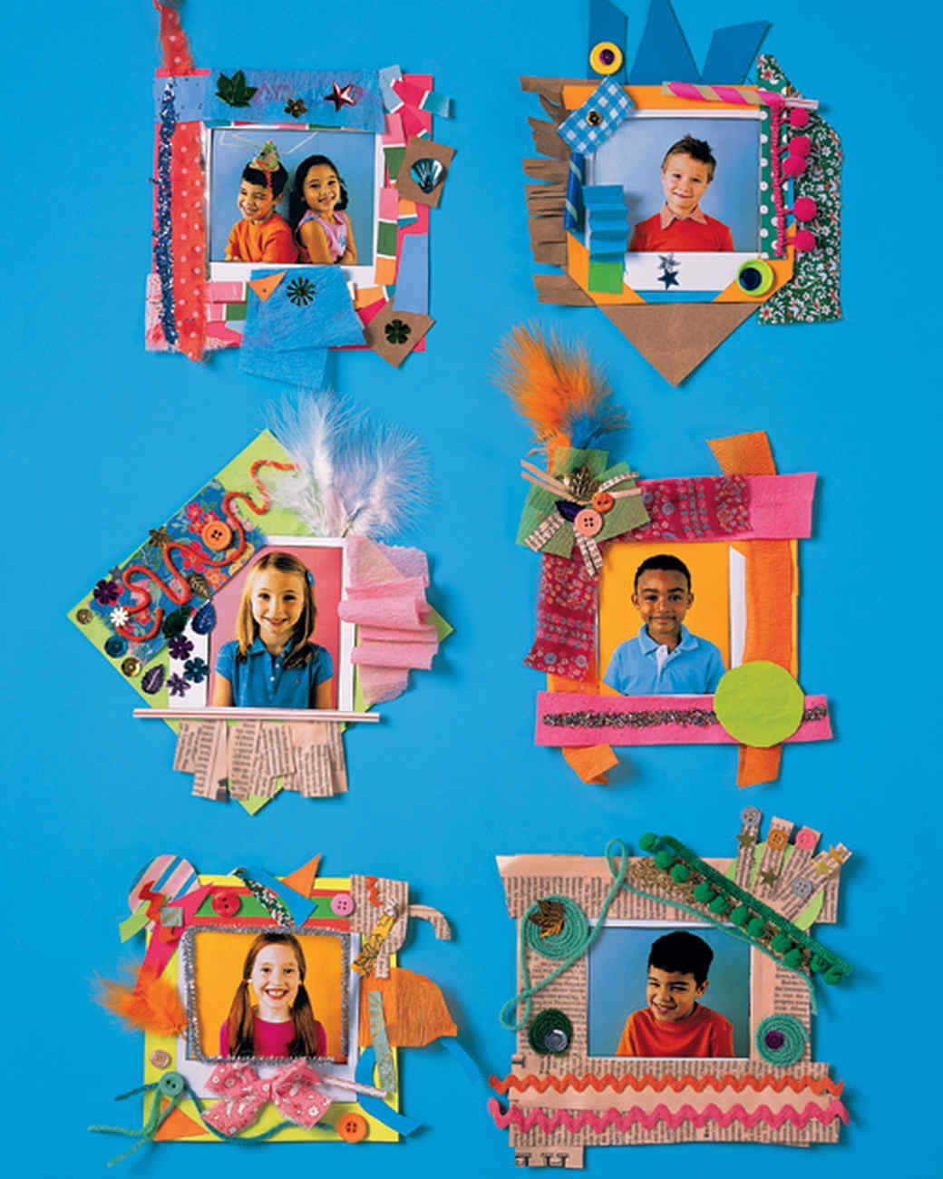 Paper Party Picture Frame Martha Stewart