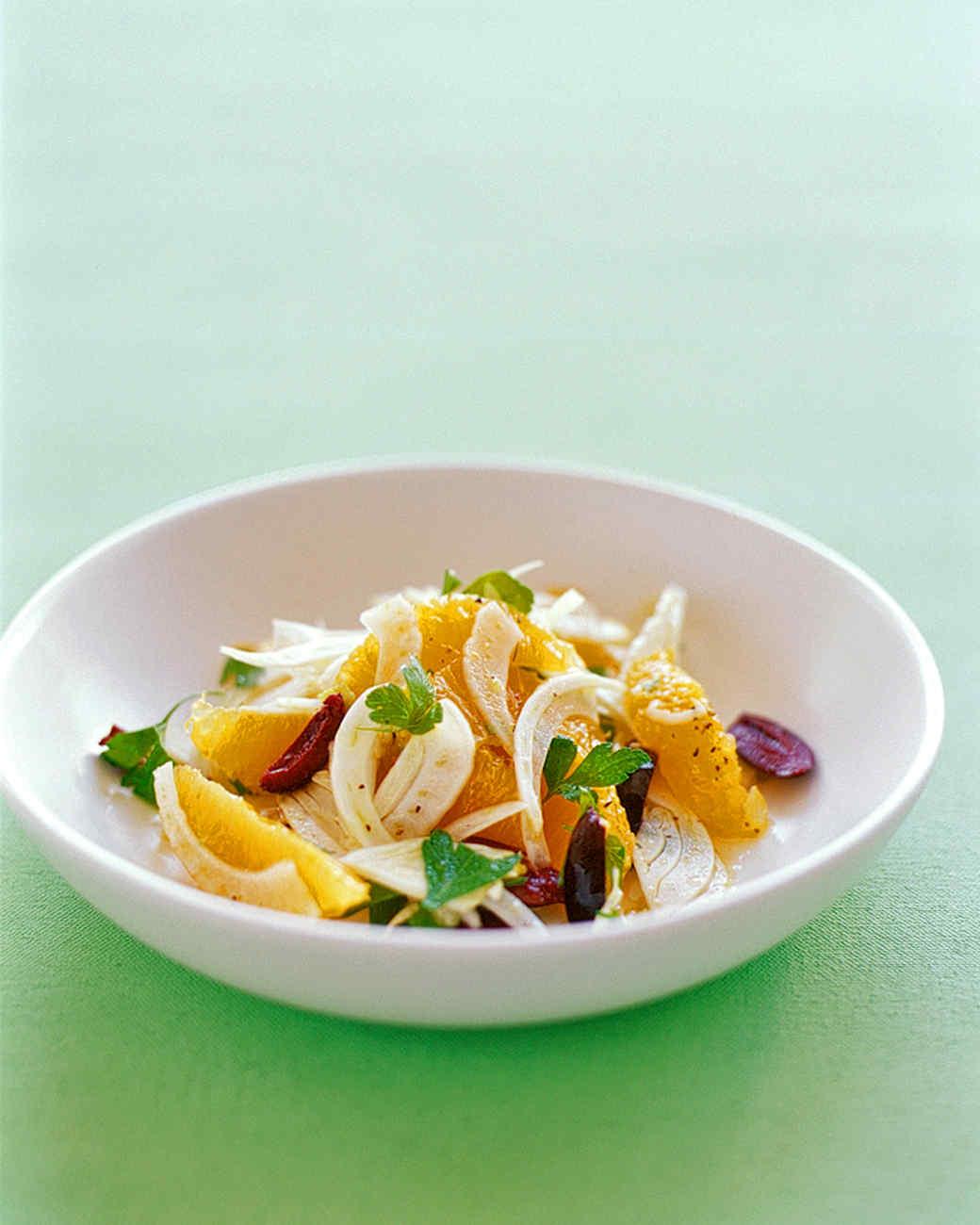 Fennel, Orange, and Parsley Salad
