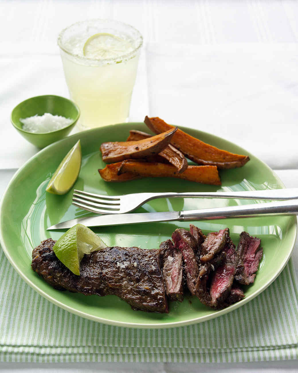 Lime-Marinated Skirt Steak