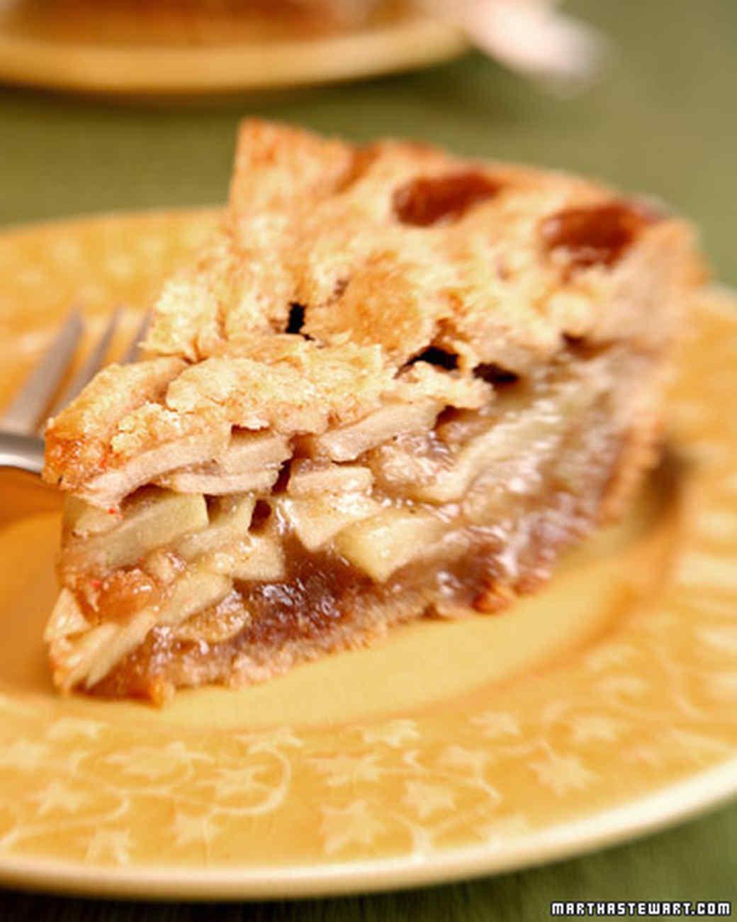Ron's Brandy Apple Pie