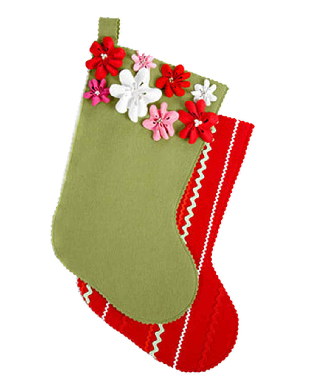 Rickrack Stocking