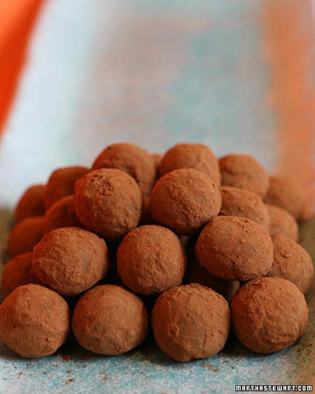 Jasmine Tea-Infused Truffles
