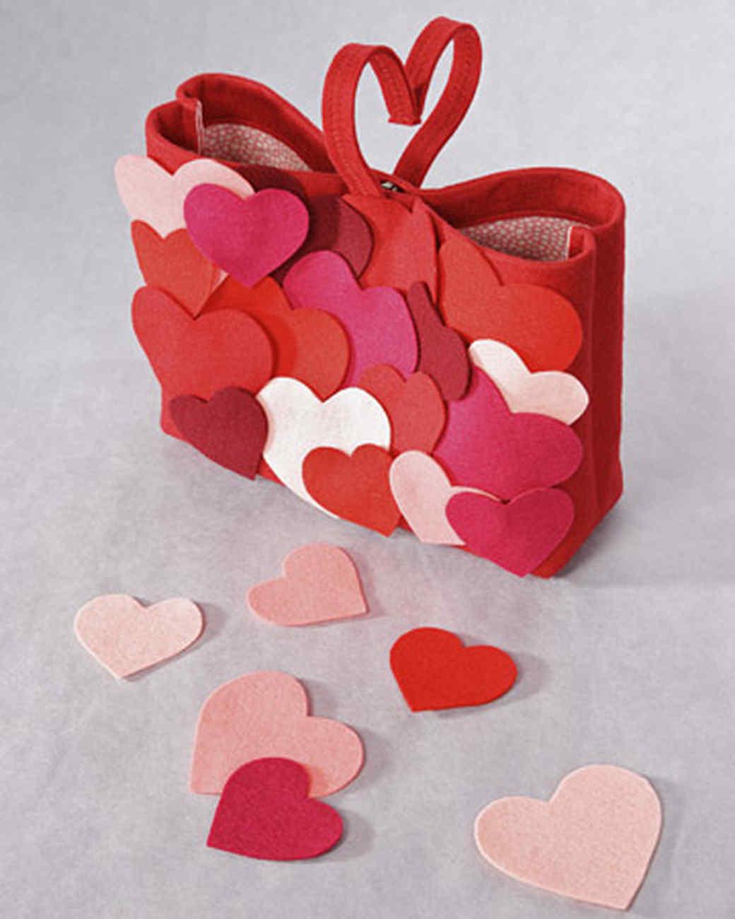 heart felt bag u0026 video martha stewart