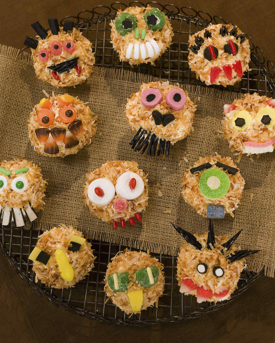 halloween cupcake recipes martha stewart - Halloween Decorations Cupcakes