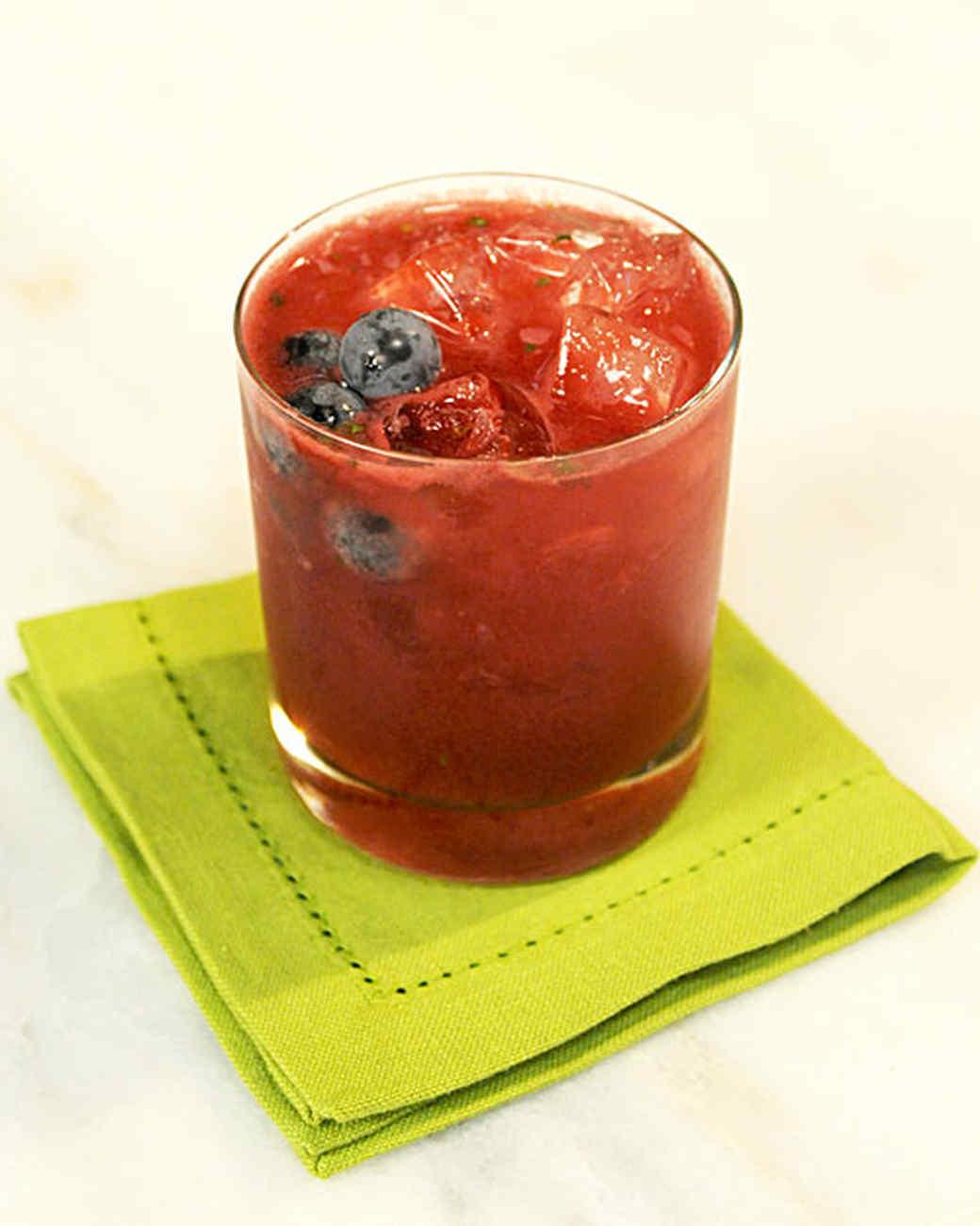 Sparkling Grape Cocktail