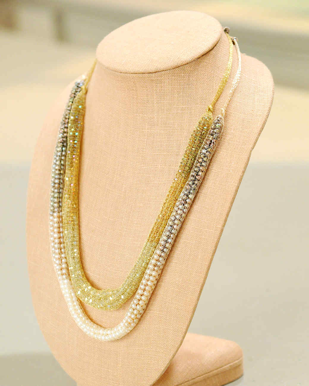 Mesh Ombre Necklace