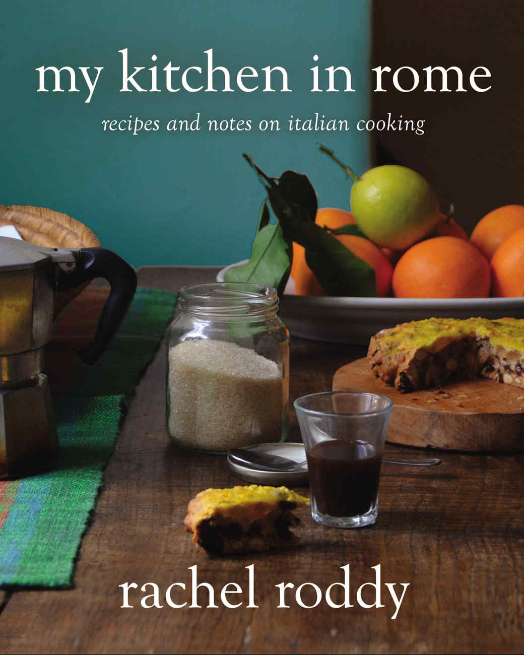 Cover of Rachel Roddy's My Kitchen in Rome