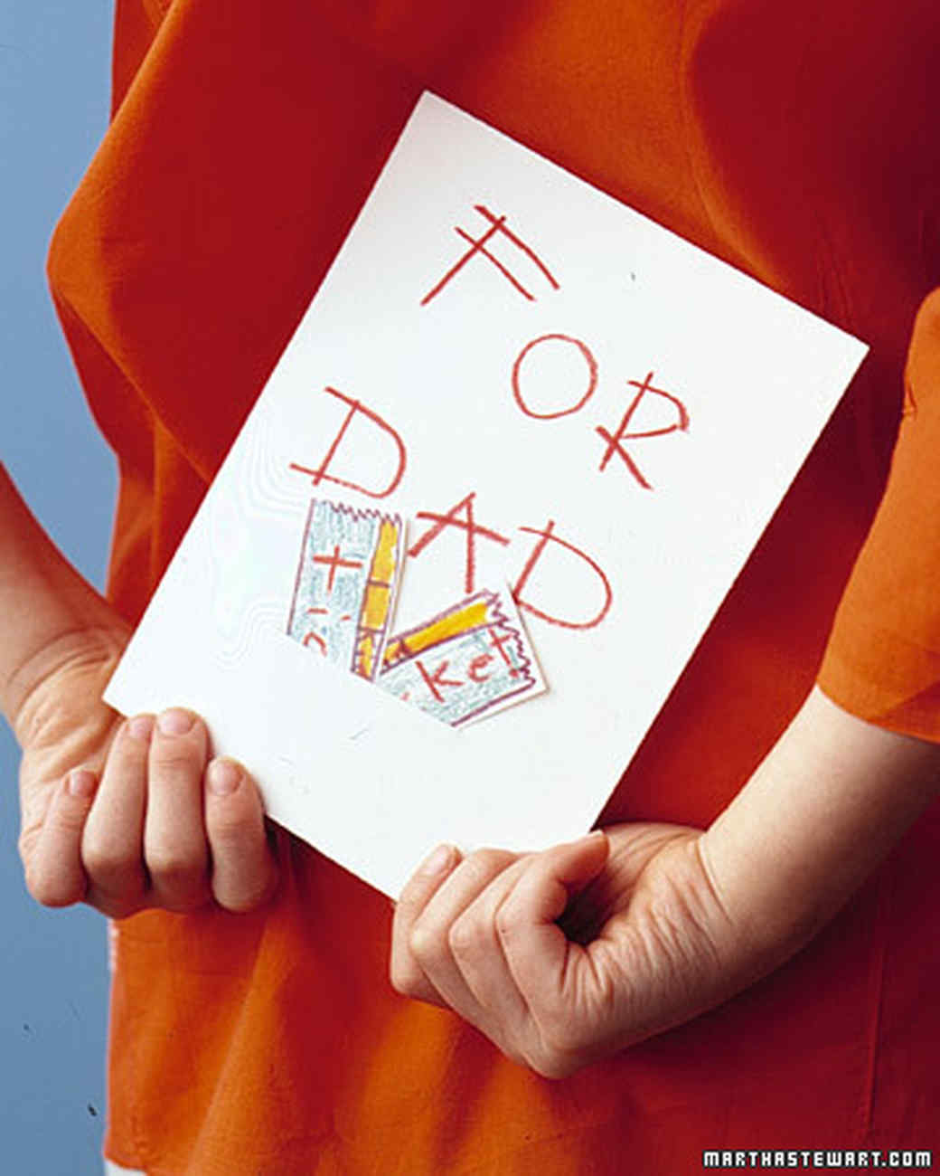 11 Father S Day Crafts Kids Can Make For Dad Martha Stewart