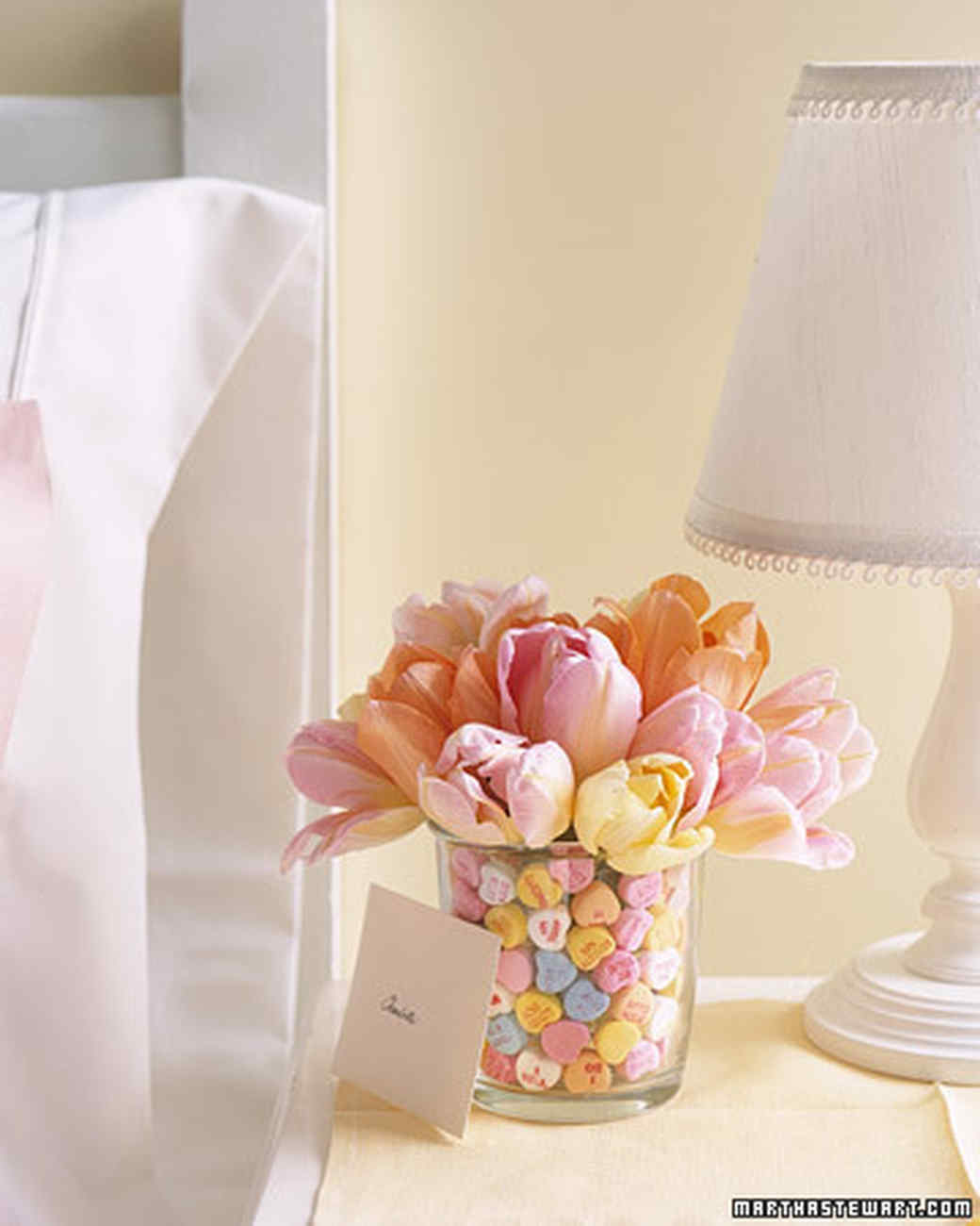 Candy and tulip bouquet martha stewart and the profusion of spicy cinnamon candies lining the vase is an elegant display of your heartfelt emotion reviewsmspy