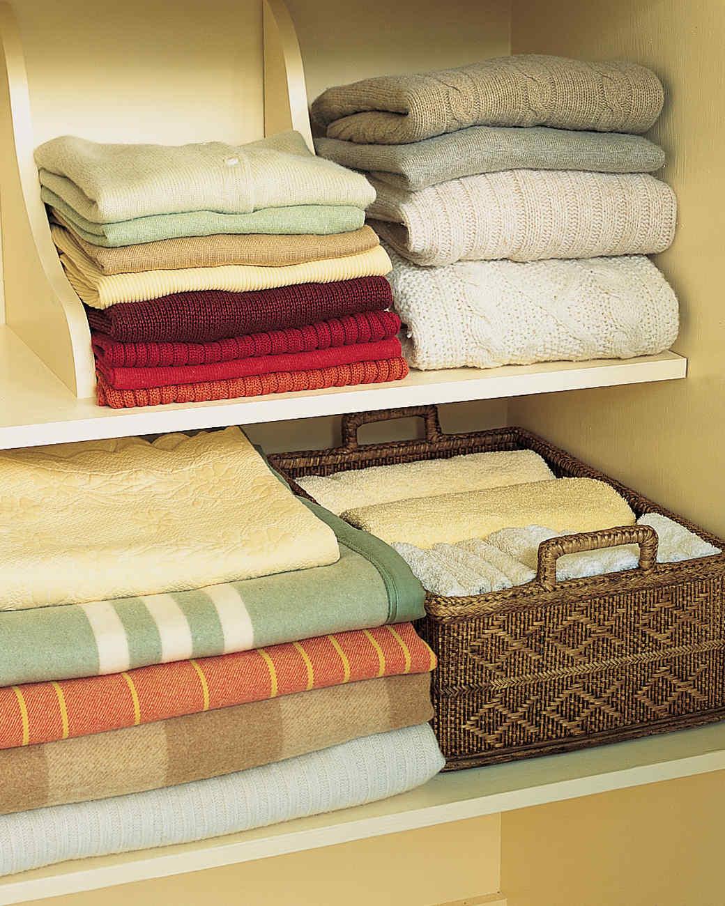 Martha Stewart Linen Closet