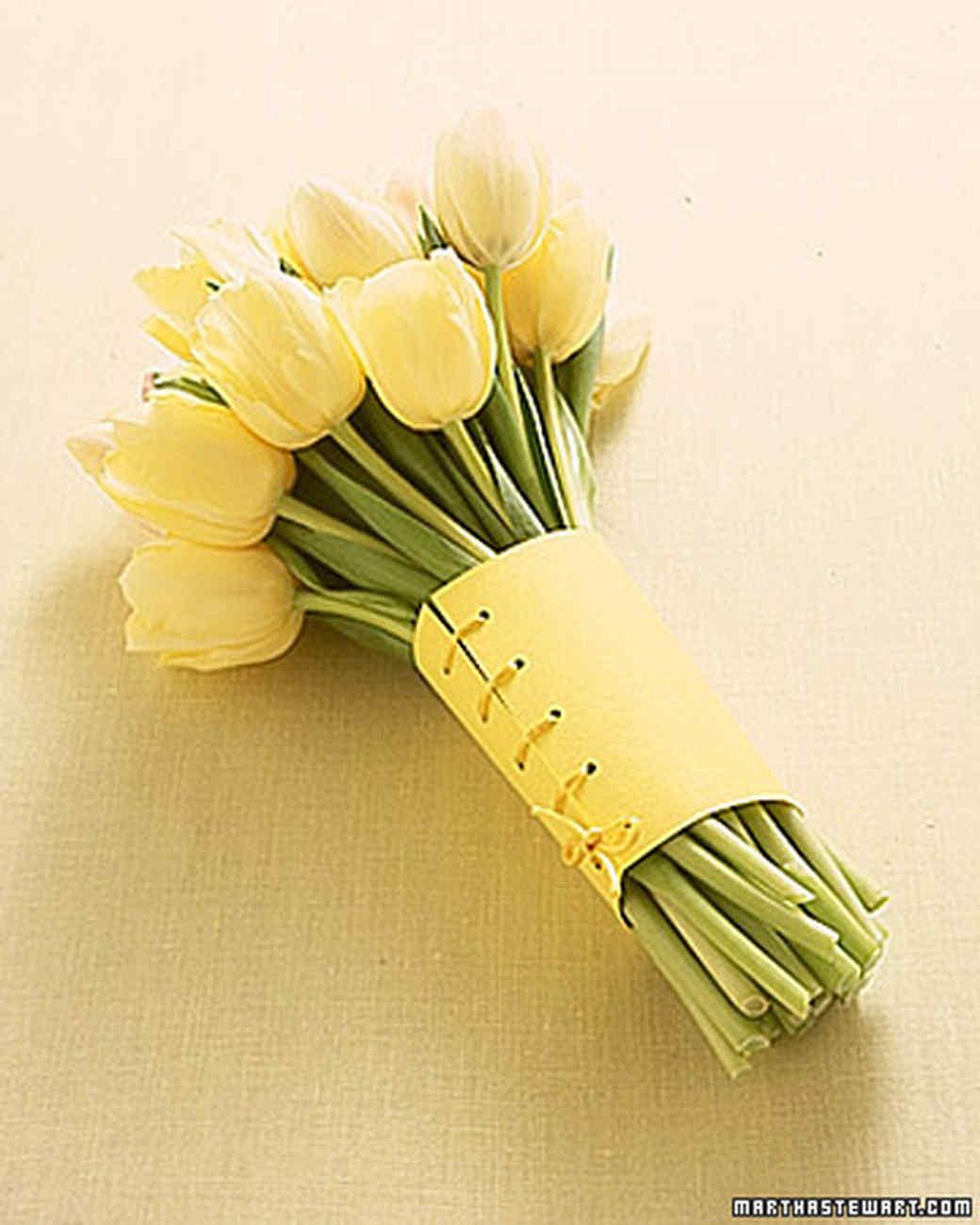 Wrapping Flowers Martha Stewart