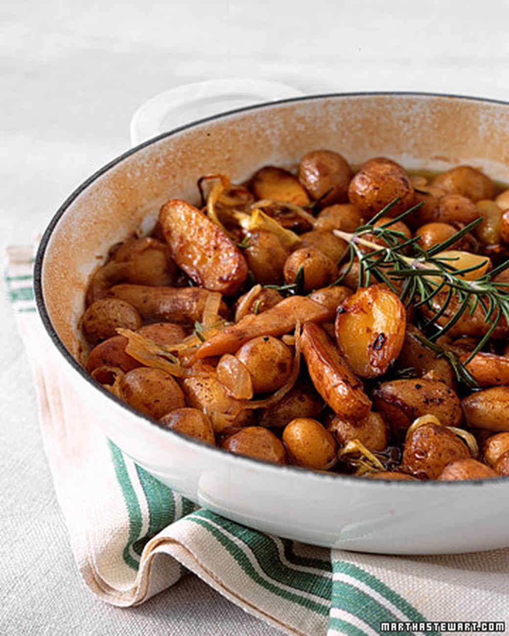 Braised Potatoes