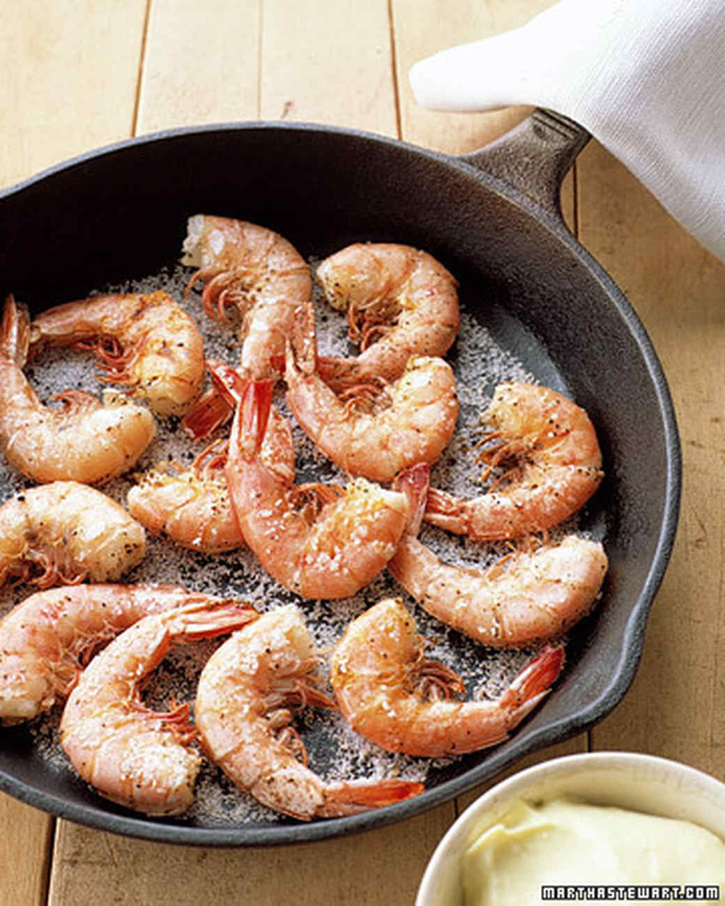 Salt-and-Pepper Shrimp with Aioli
