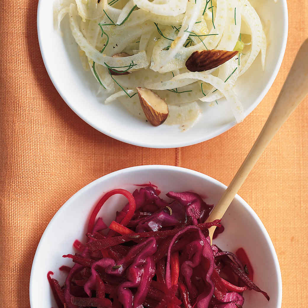 Shaved Fennel Salad with Almonds