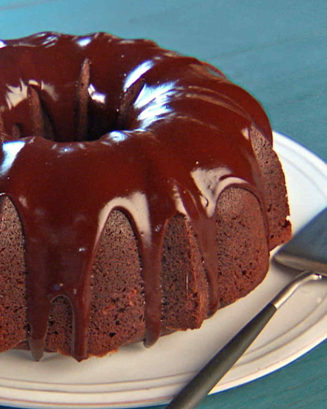 Martha Stewart Yellow Bundt Cake