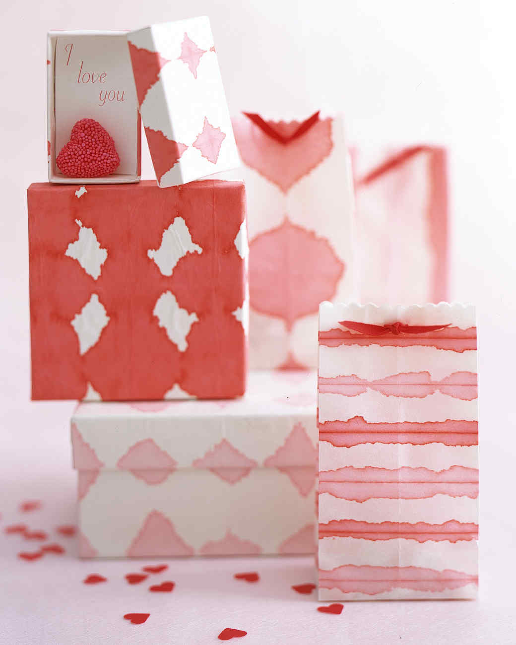 Dip-Dye Wrapping Paper