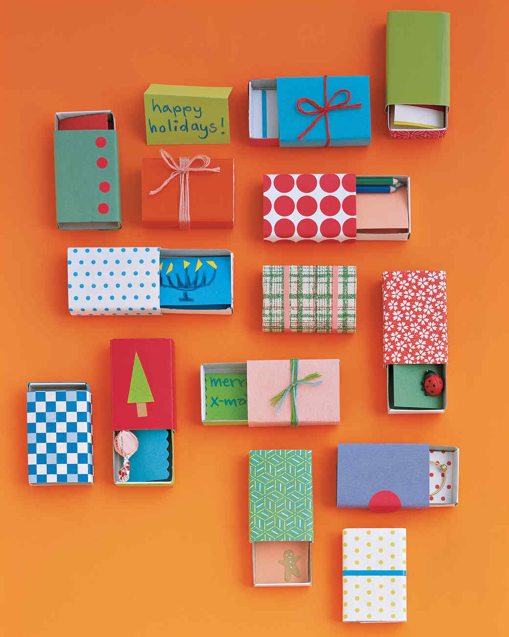 Christmas Craft Gift Ideas For Kids To Make Part - 44: Matchbox Gifts