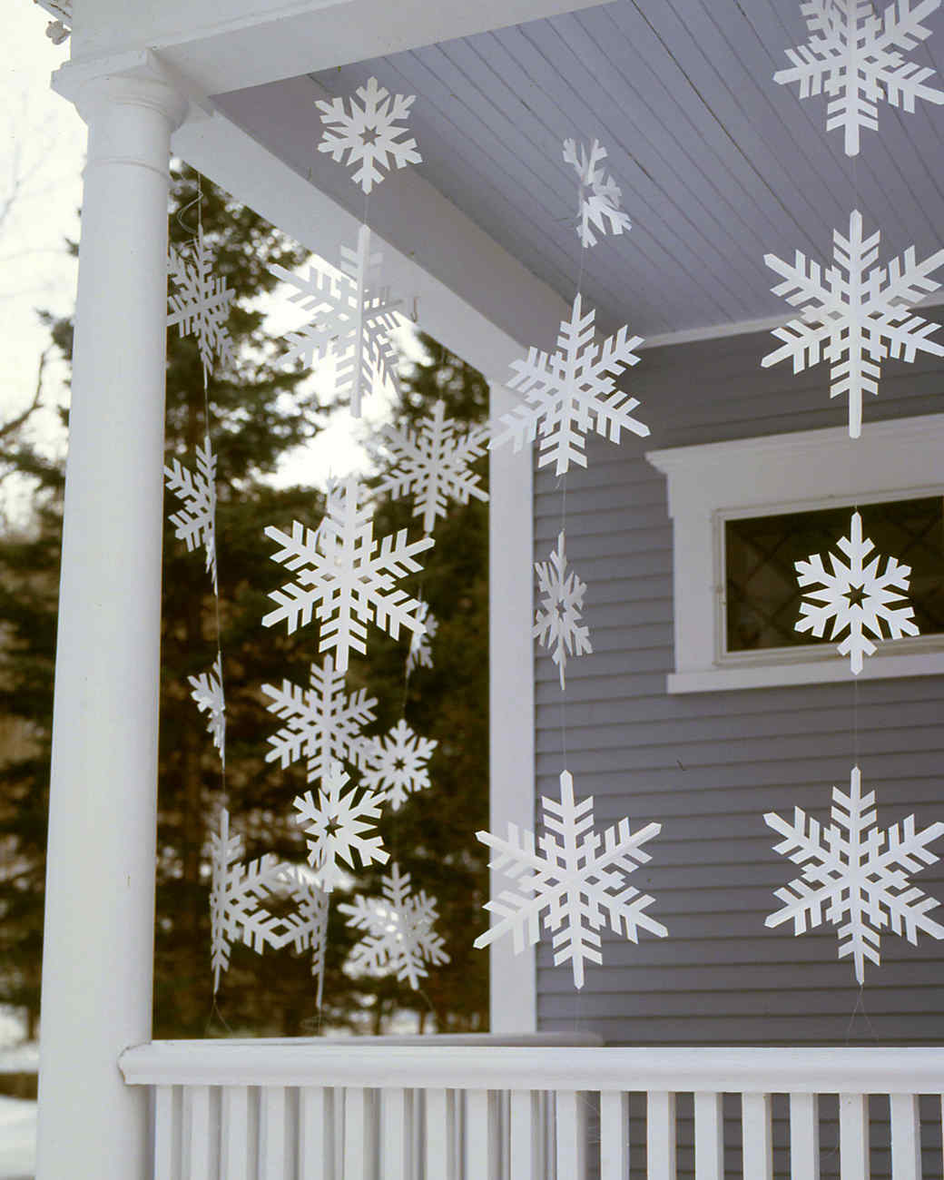 17 snowflake ornaments thatll guarantee a white christmas martha stewart