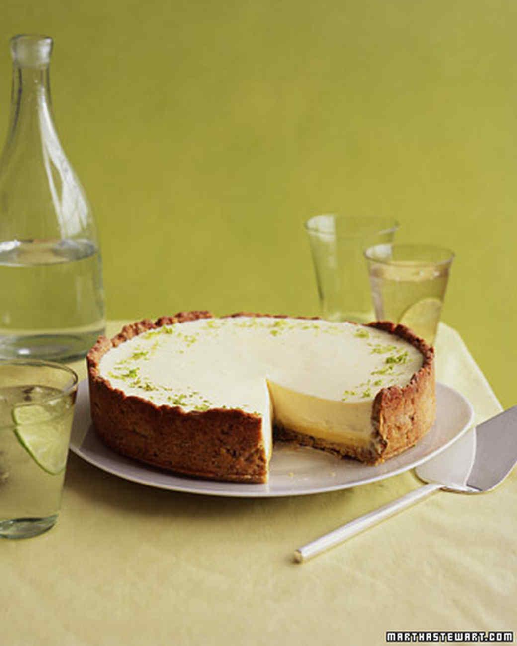 Lime-Pistachio Tart