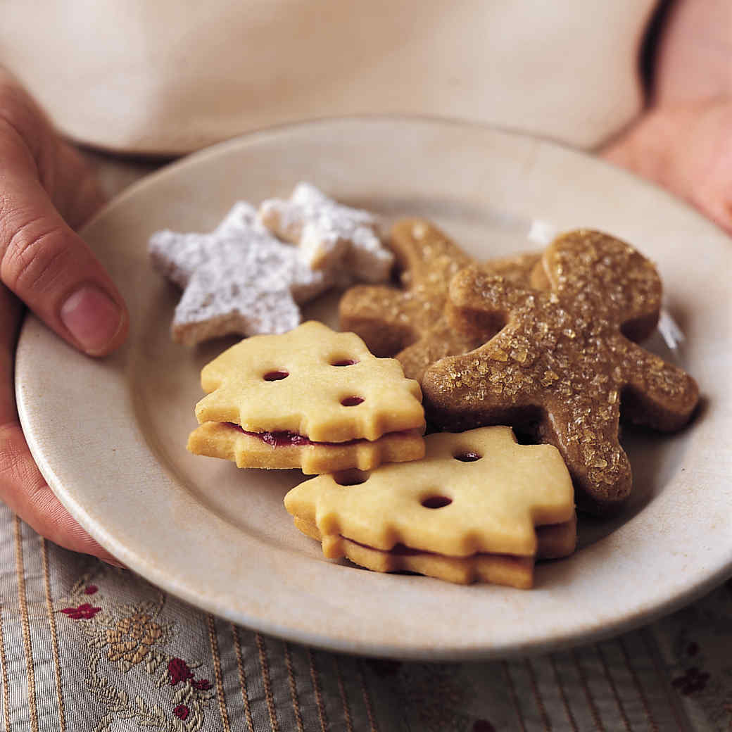 Candied Ginger Shortbread
