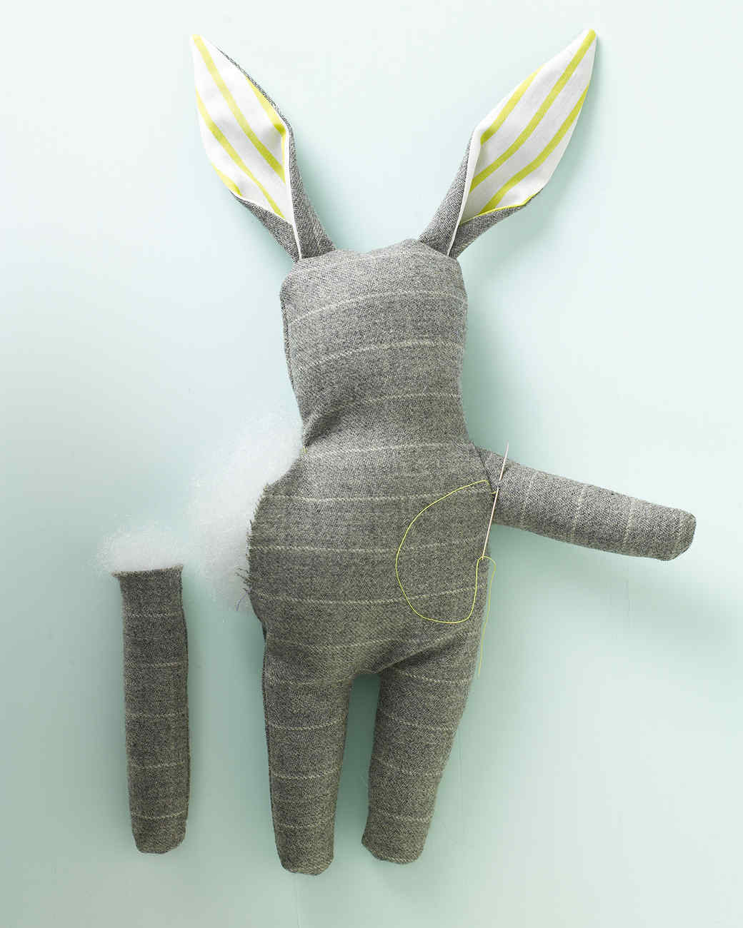 Stuffed Menswear Bunny | Martha Stewart