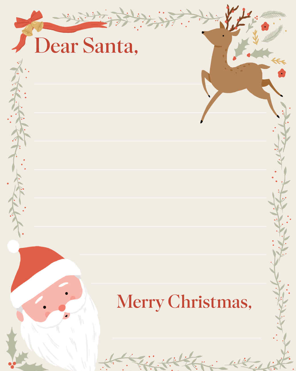 Letter To Santa Martha Stewart