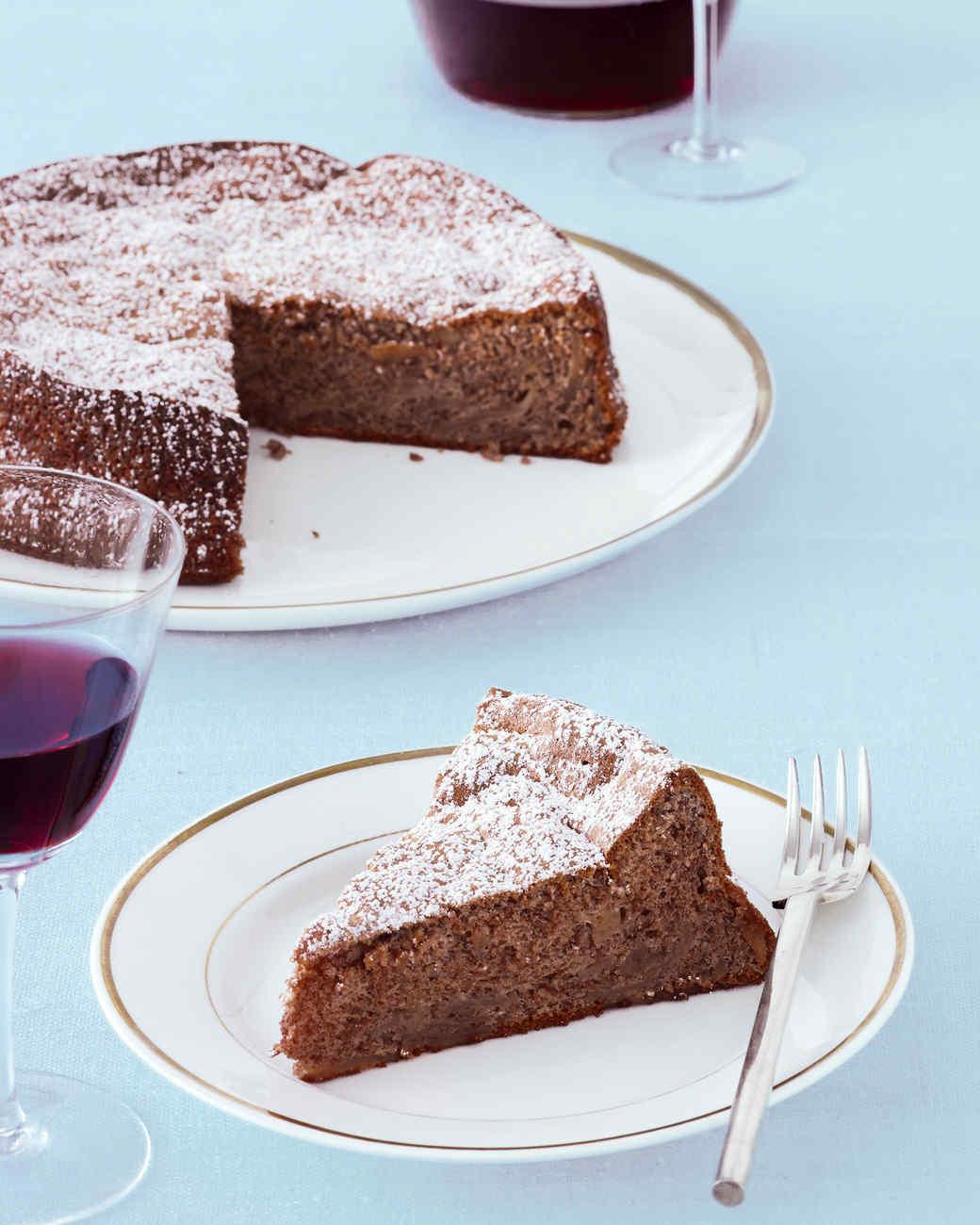 Martha stewart apple pecan cake recipe