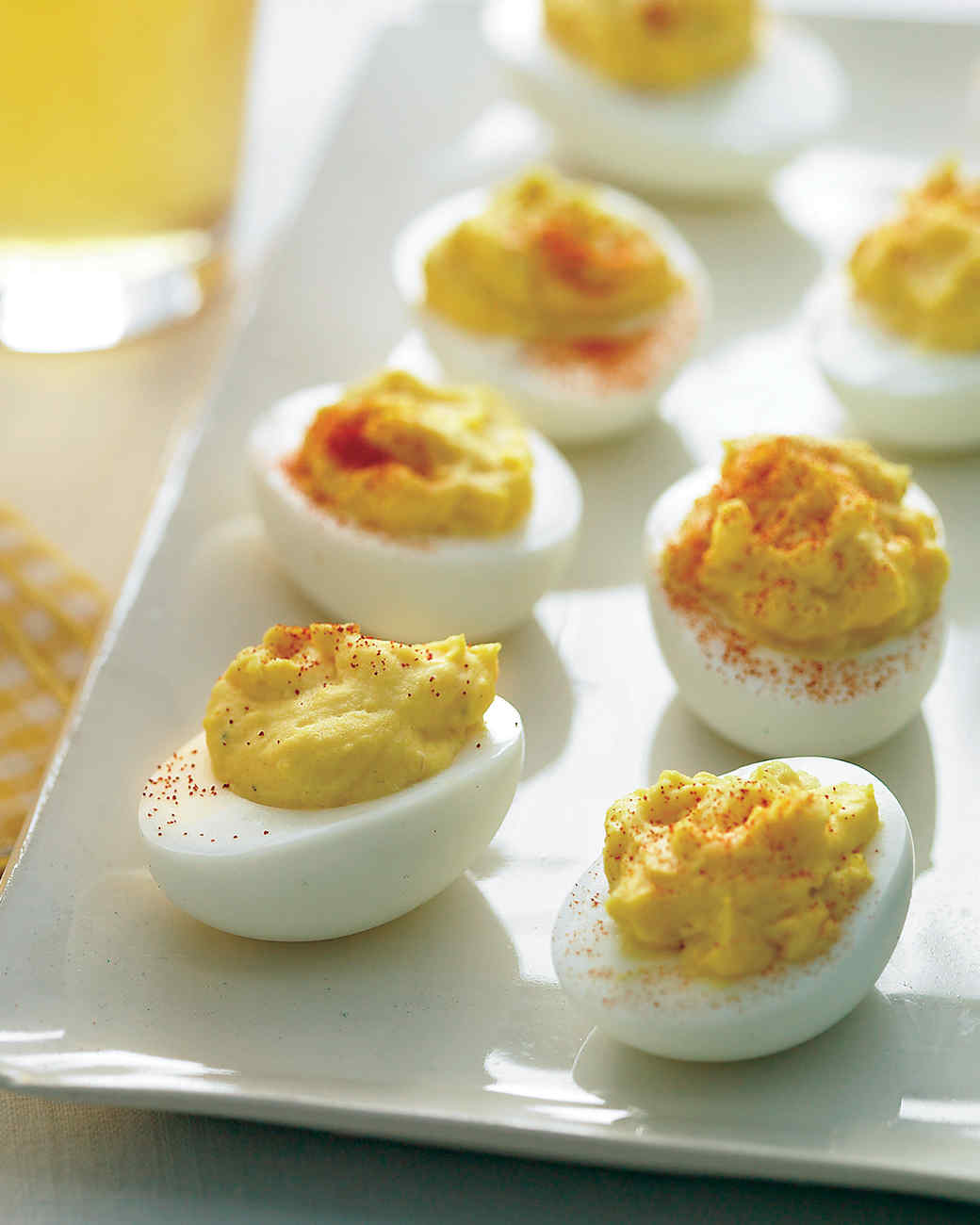 Creamy Deviled Eggs Recipe & Video | Martha Stewart