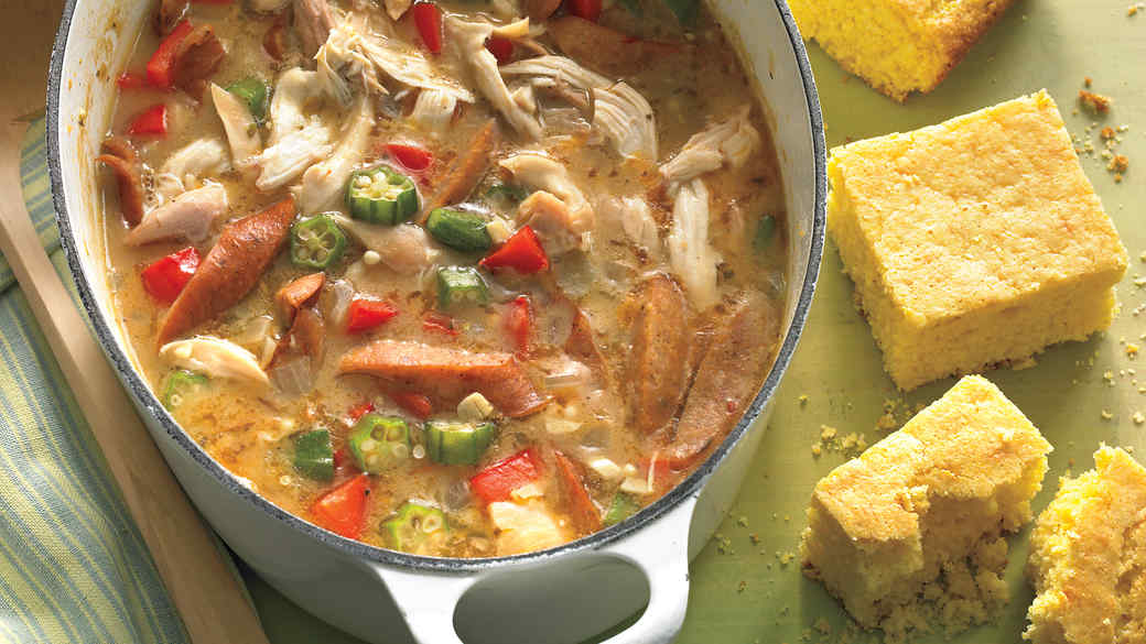 Half Hour Chicken Gumbo