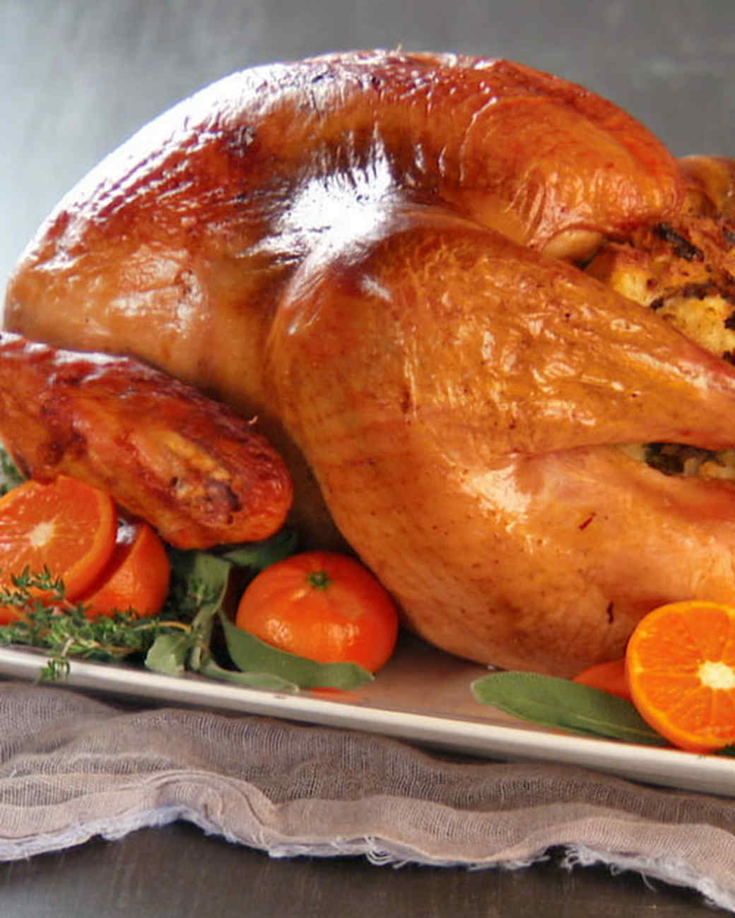 Brined and Oven-Roasted Turkey