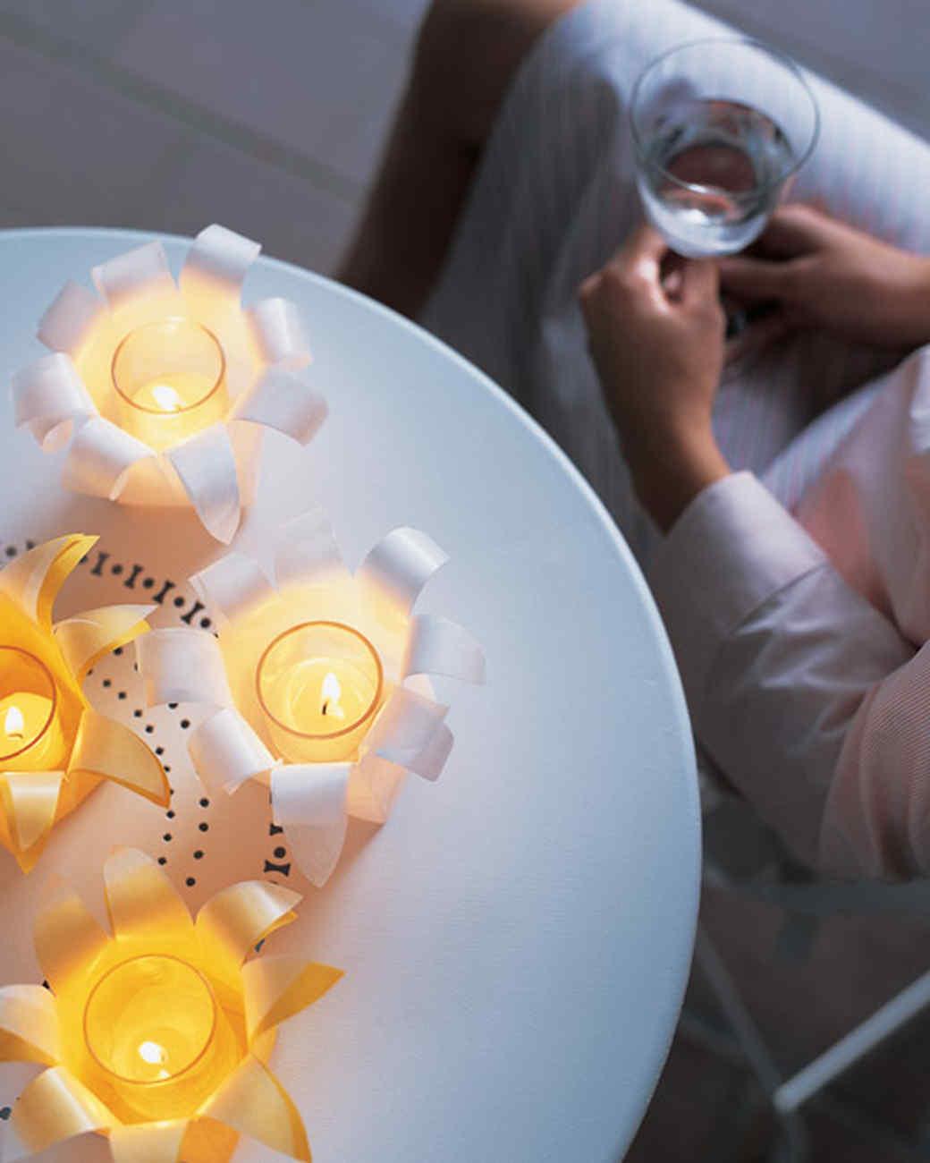 Daffodil Candles