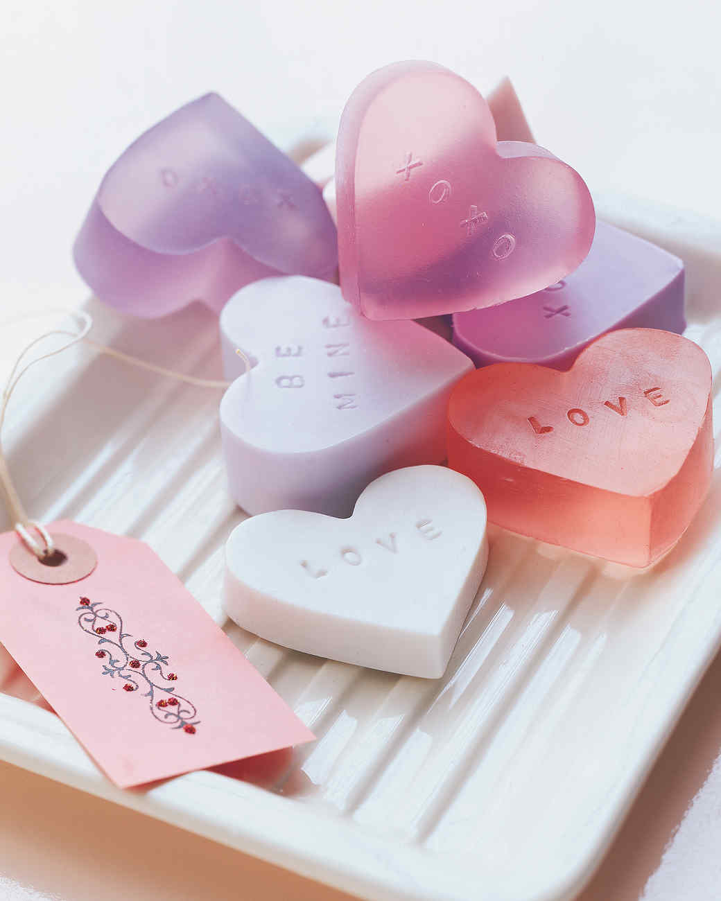 Heart Shaped Soap Amp Video Martha Stewart