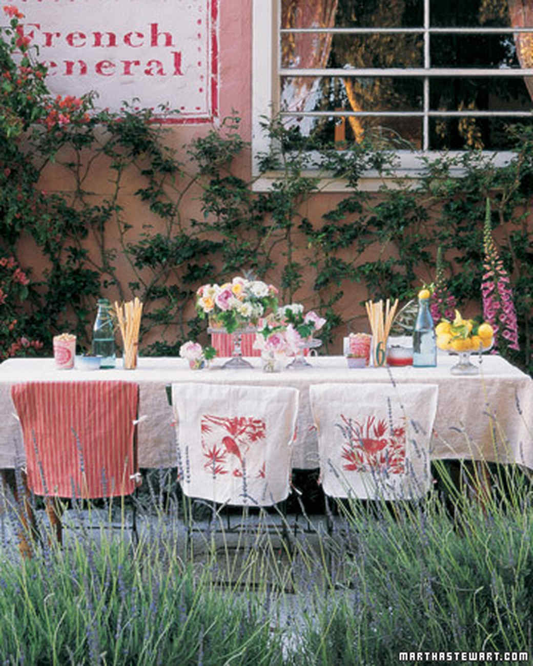 French Inspired Ideas Martha Stewart & Garden Party Ideas Martha Stewart - Best Idea Garden