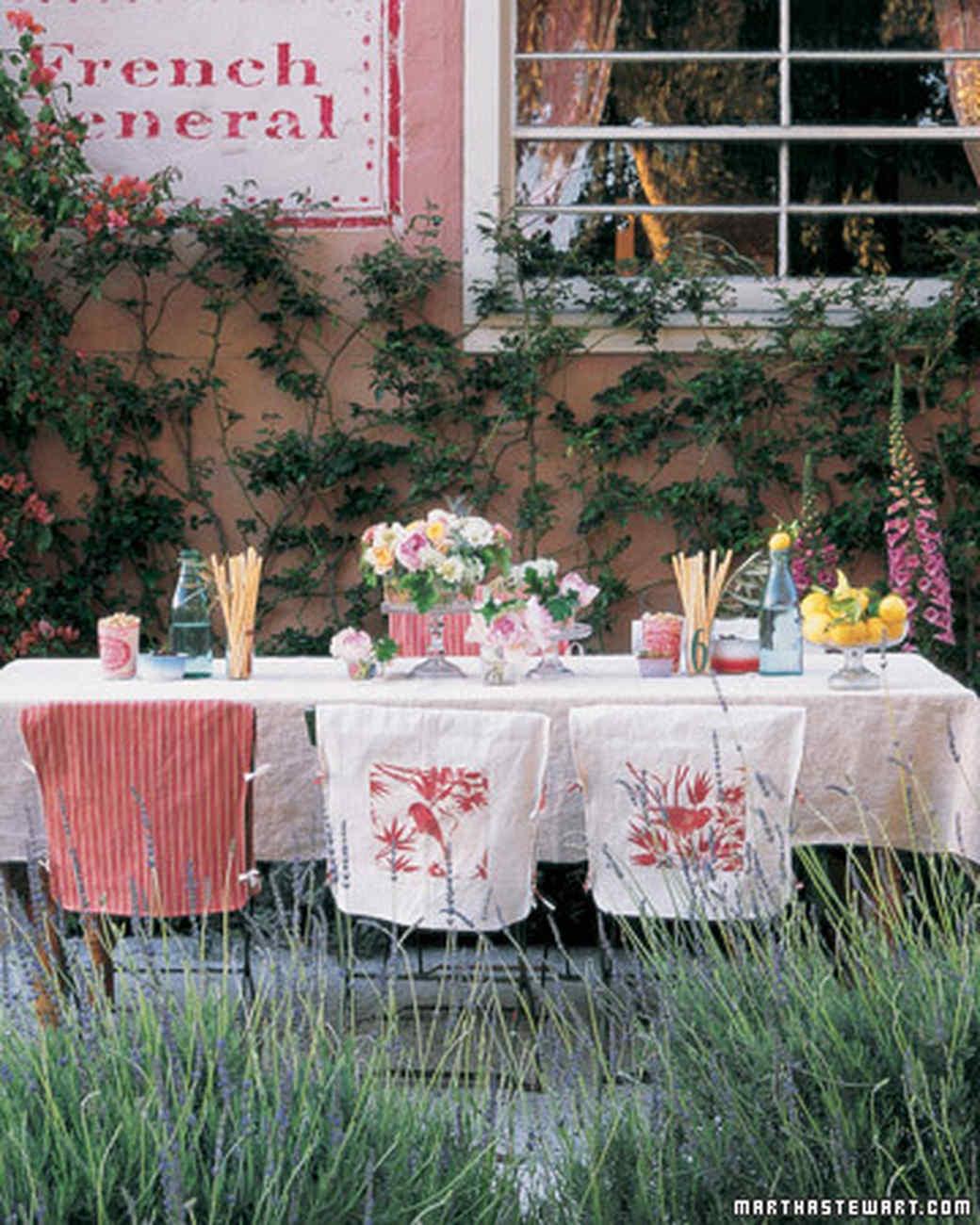 outdoor party ideas martha stewart