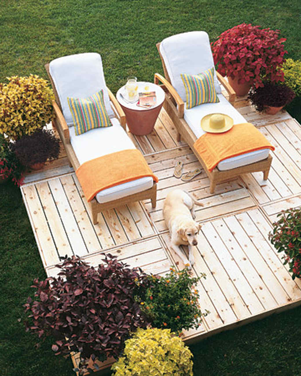 Good Create Your Own Sun Deck