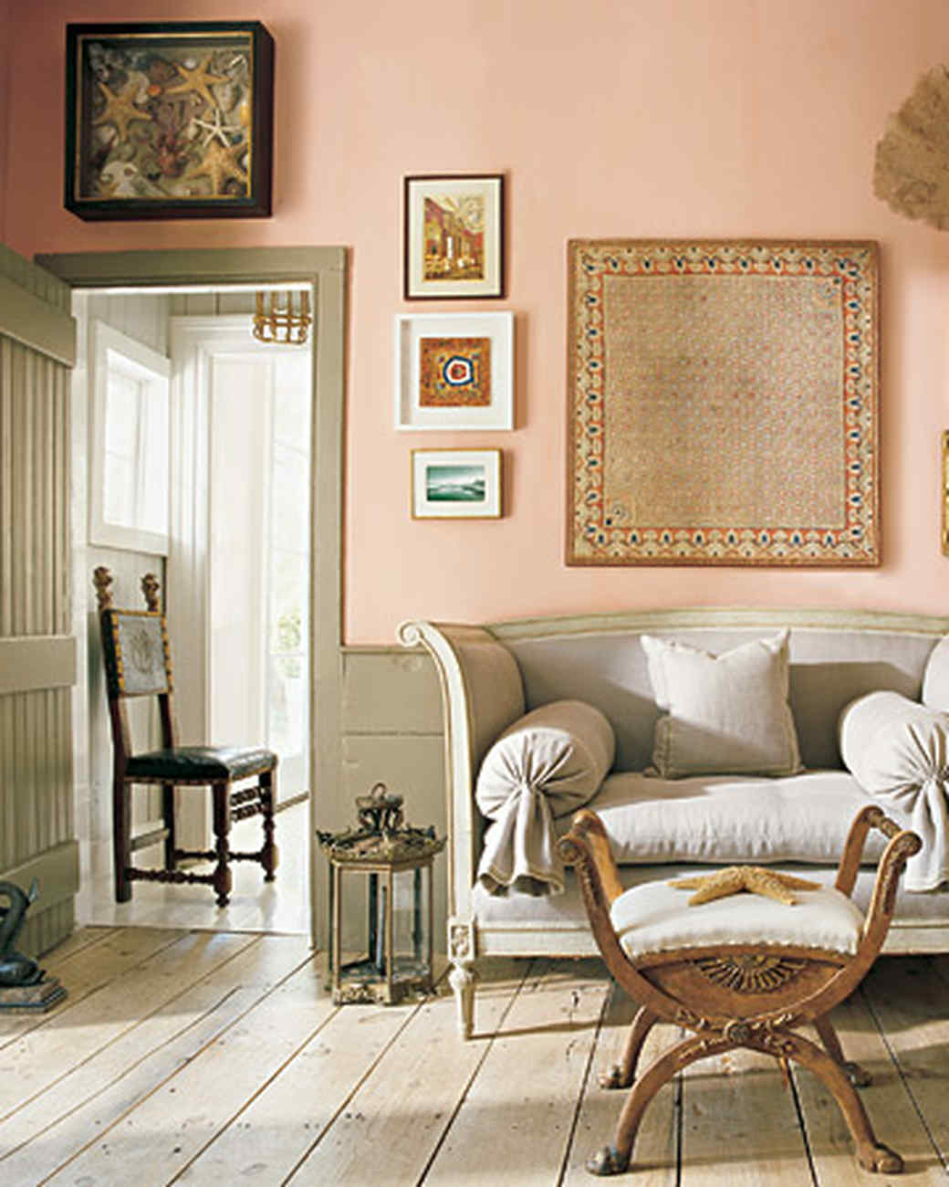 living room paint colors ideas.  Paint Palettes We Love Martha Stewart