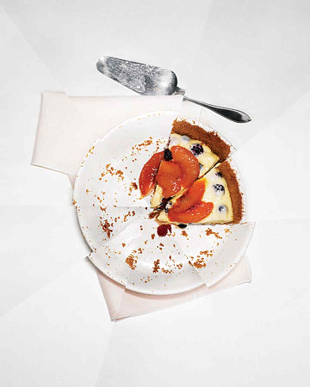 Summer Fruit Cream Pie