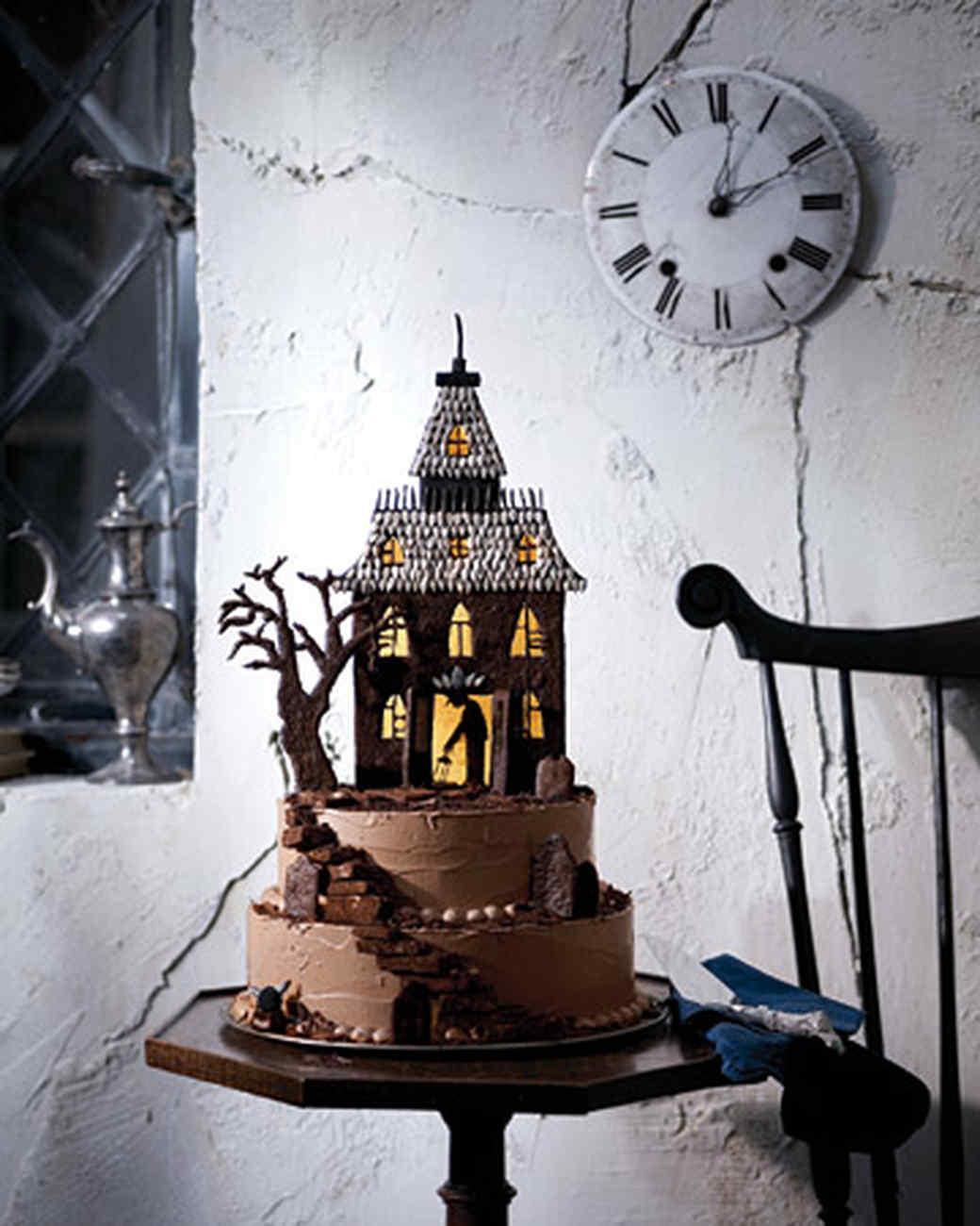 Haunted-House Chocolate Cookies