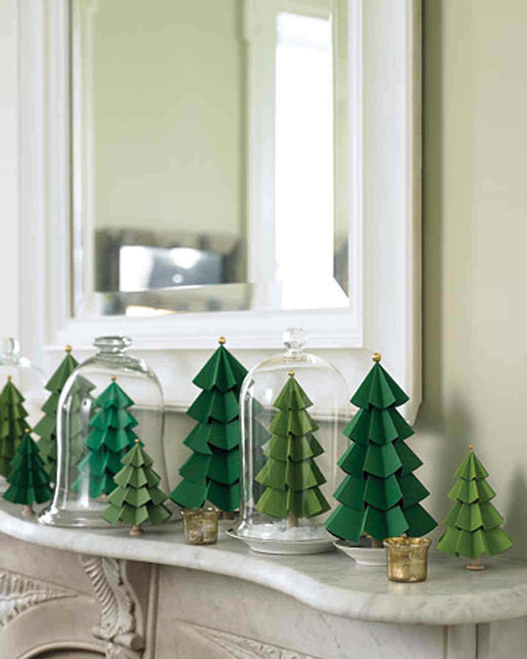 paper evergreens video martha stewart