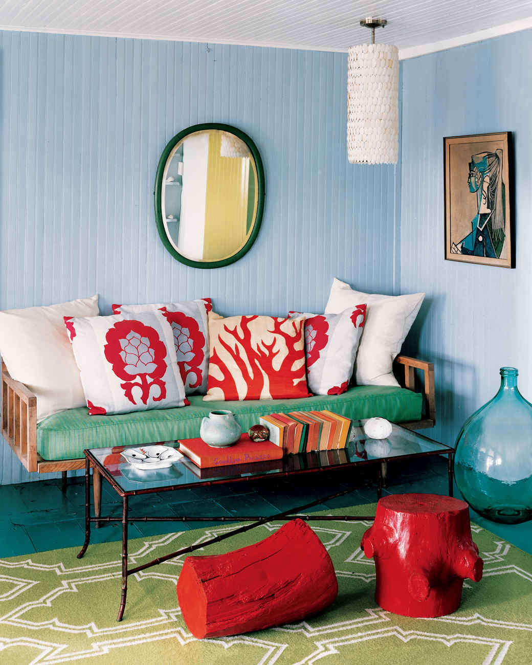 Red And Green Living Room Decorating Ideas Mariannemitchellme