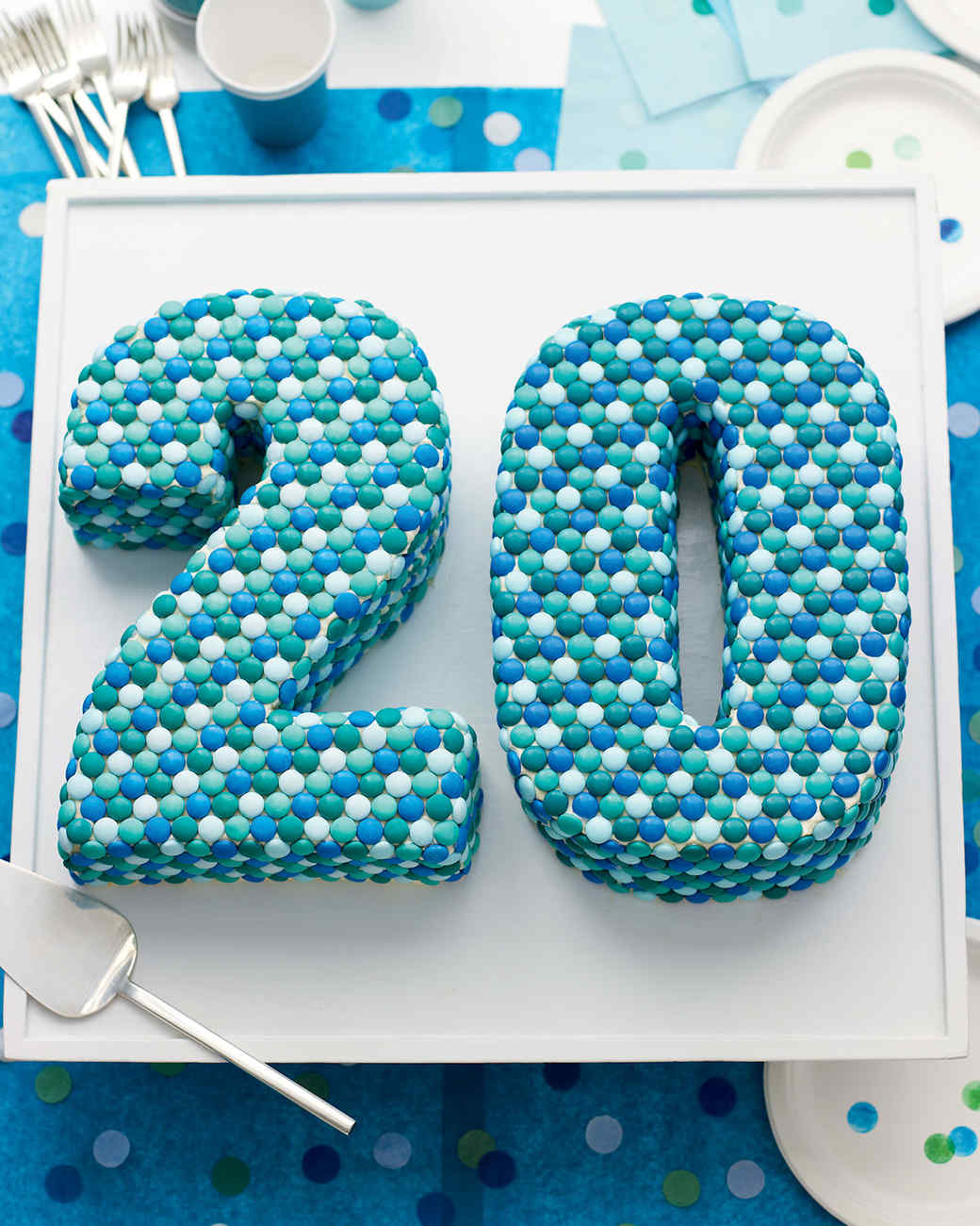 A NumberThemed Birthday Party or Anniversary Martha Stewart