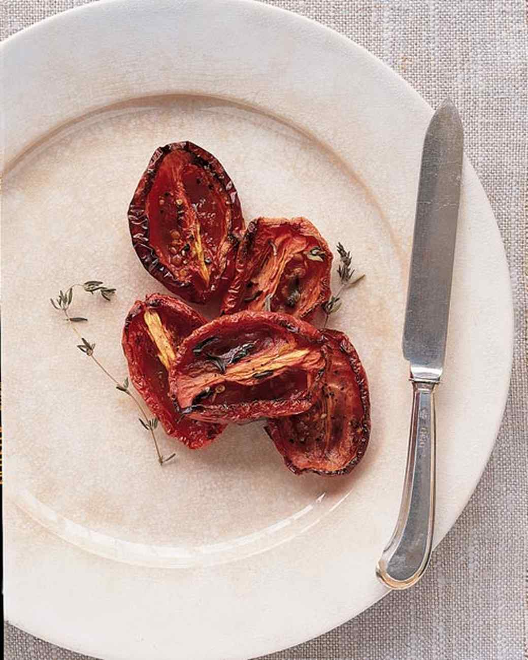 Roasted Plum Tomatoes