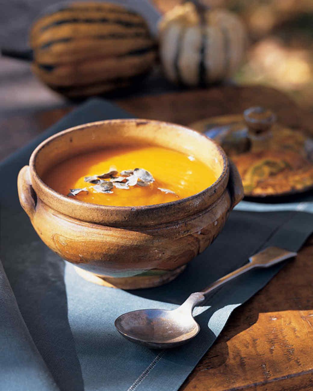 Pumpkin-Chestnut Soup