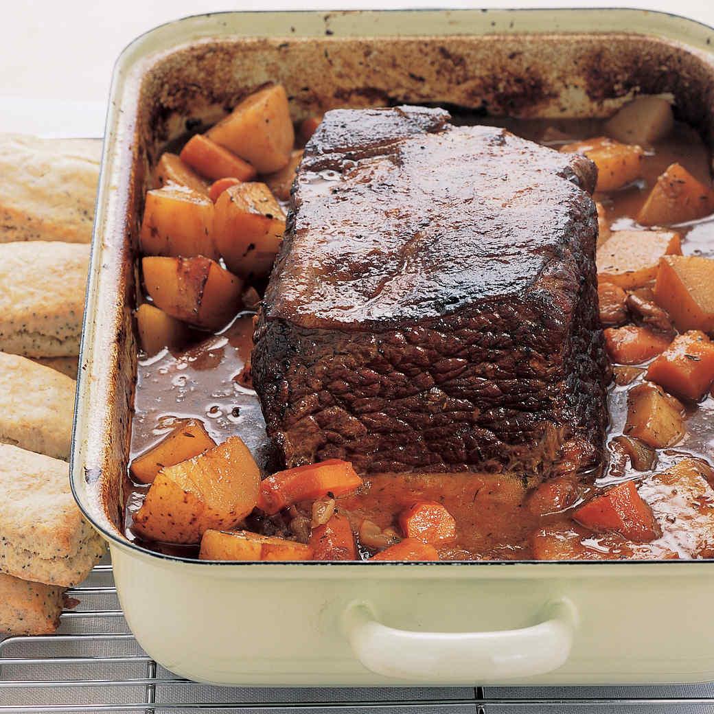 Beef chuck roast recipe oven fast