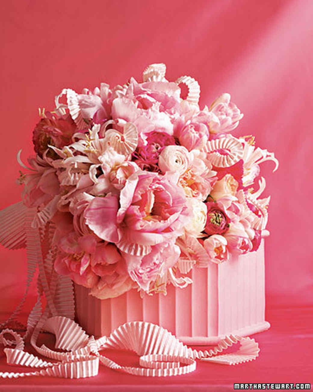Pink Wedding Bouquets Martha Stewart