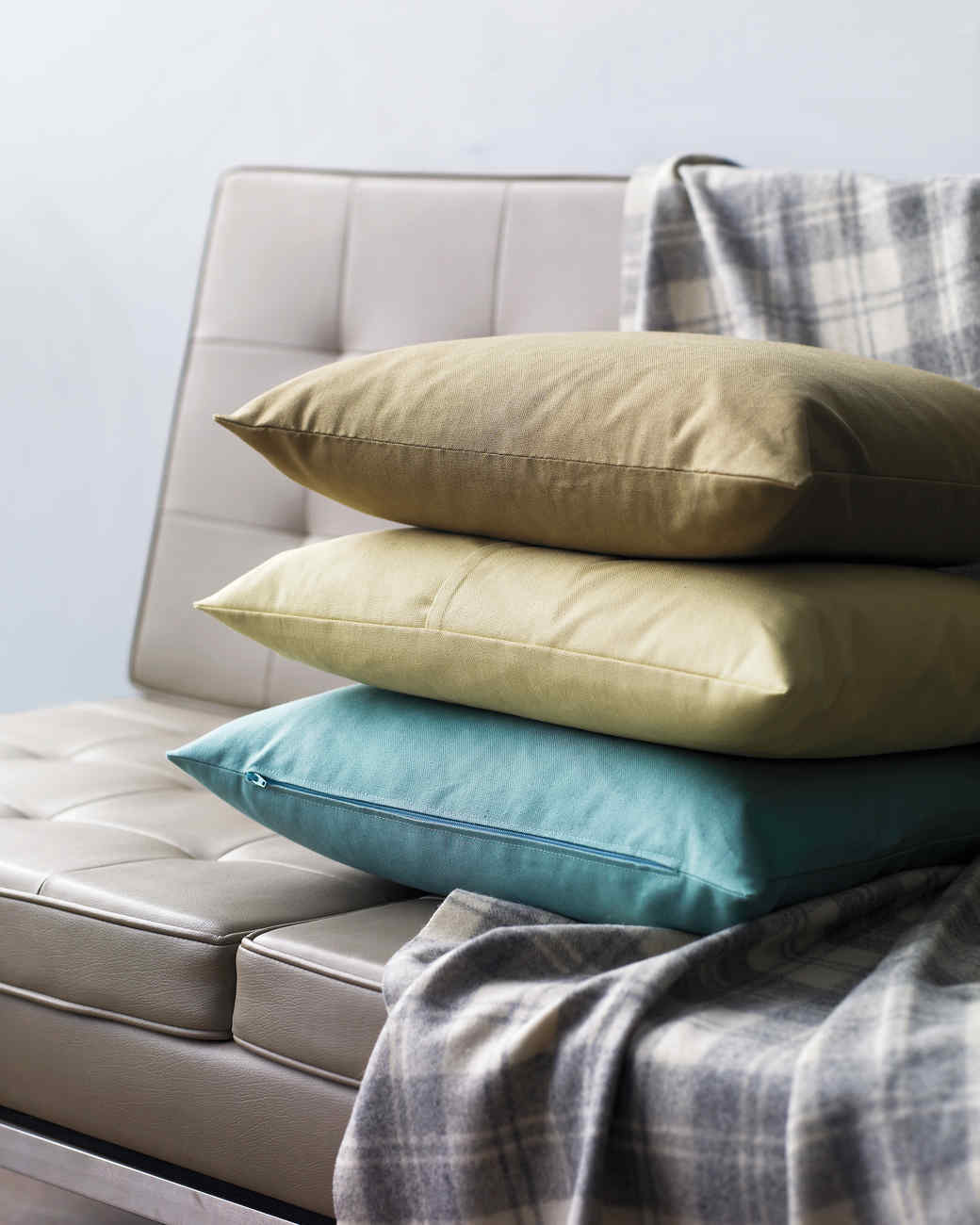 Envelope-Backed Pillow Cover